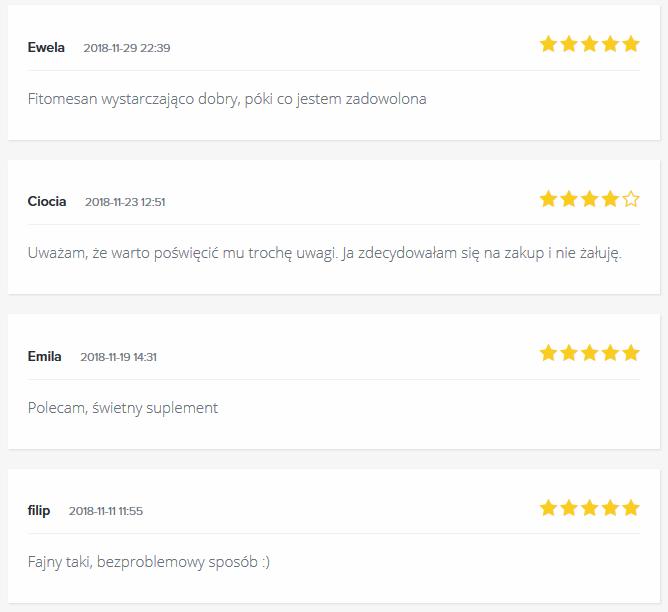 Opinie o Fitomesan Forum