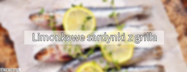 Limonkowe sardynki z grilla - dietetyczna dieta